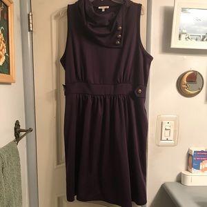 Coach Tour A-Line dress in violet 2X